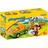 Playmobil 1.2.3 70182 Dierenverzorger Met Neushoorn