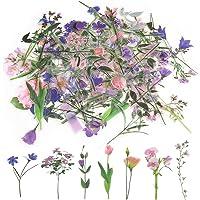80Pcs Stickers Fleurs, Autocollant Scrapbooking Fleurs Stickers Vintage Autocollants Décoratifs Flower Stickers Craft…