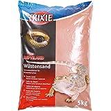 Trixie Arena Desértica para Terrarios, 5 kg, Roja, Reptiles