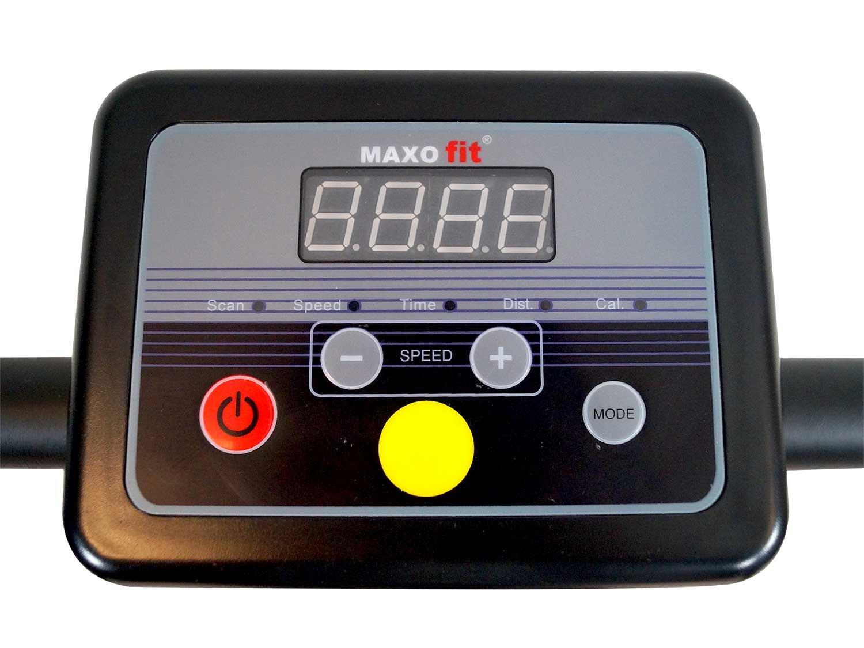 MAXOfit® Tapis roulant Elettrico Professionale Deluxe MF-16 per Riabilitazione e camminiate rilassanti con maniglioni e… 5 spesavip