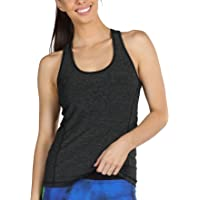 icyzone Workout Running Tank Top for Women - Racerback Yoga Tops Exercise Gym Shirts