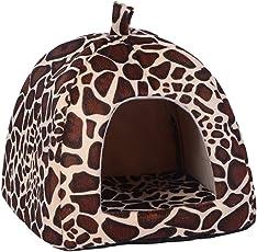 Demiawaking Weiche Haustier Schlafsack Hundehütte Katzenhöhle Hund Katze Haus