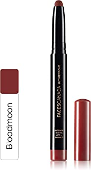 Faces Canada Ultime Pro HD Intense Matte Lips + Primer 1.4g Blood Moon (Red)