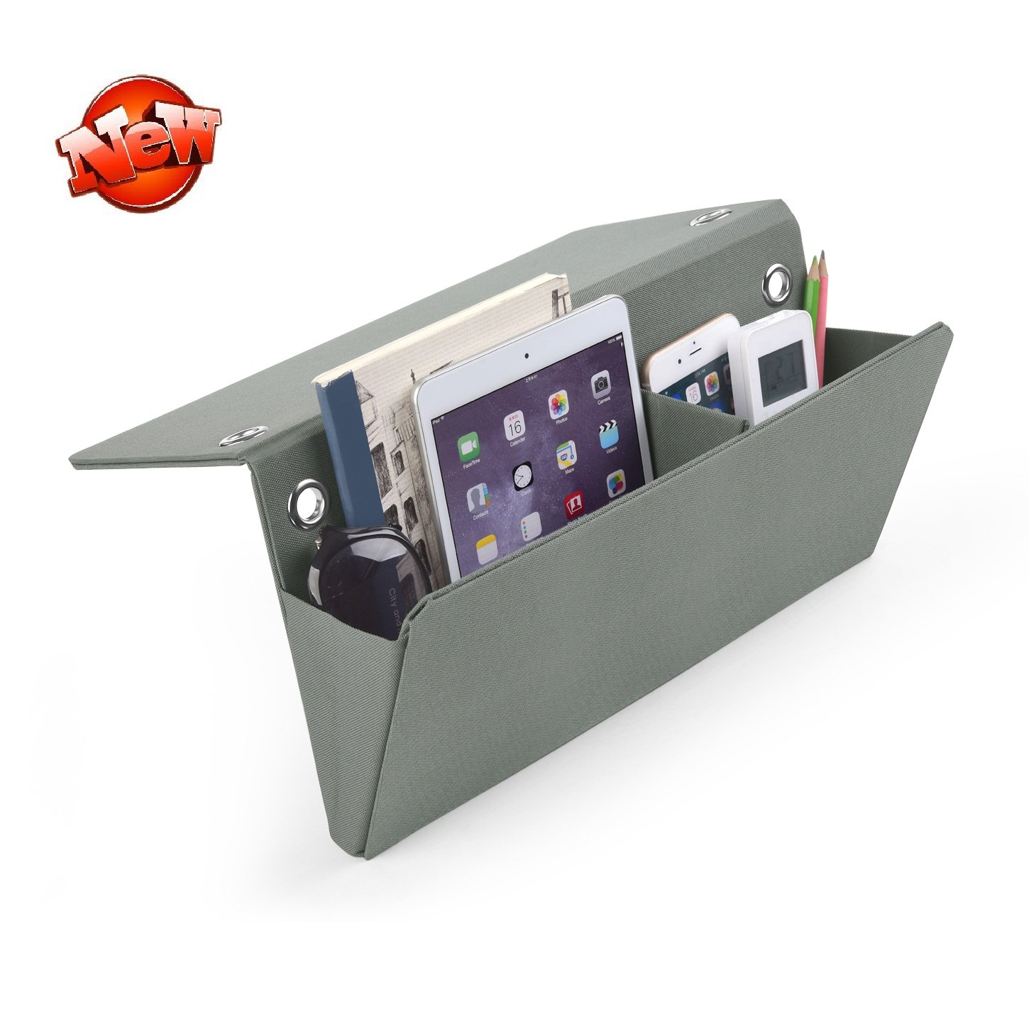 Bedside pocket bedside storage organizer caddy wall mount for Sofa organizer
