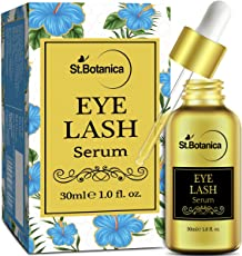 StBotanica Eyelash Growth Serum - 30ml (With Castor Oil, 100% Pure and Natural Oils)
