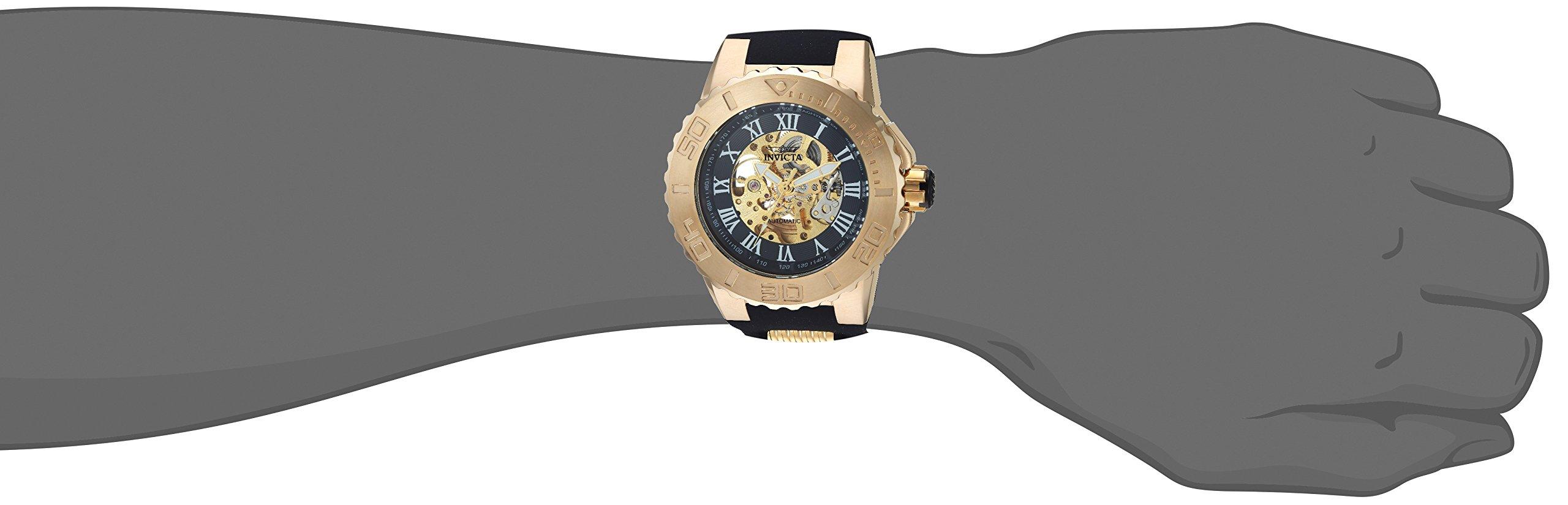 Invicta Analogue Black Dial Men's Watch -24742