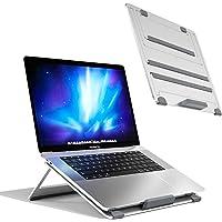 Newaner Support Ordinateur Portable Pliable Aluminum, réglable en Hauteur, Rehausseur Laptop Compatible avec Notebook(10…