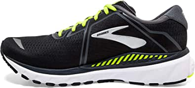 Brooks Mens Adrenaline GTS 20 Running Shoes, Black/Grey