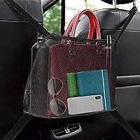 Car Net Pocket Handbag Holder, Organizer Sedile Auto Bambini, Organizer Auto dell'Organizzatore e Pocket per Riporre…