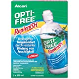Alcon Replenish Contact Lens Solution (3 Months Pack) 2x300ml