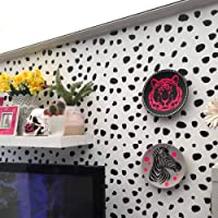 67 Dalmation Spots Dot Wall Stickers Decal Dalmatian Stickers Vinyl Polka Spots Child Kids Vinyl Art Decor Home Nursery