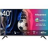 Hisense 40AE5500F - Smart TV, Resolución Full HD, Natural Color Enhancer, Dolby Audio, Vidaa U 2.5 con IA, HDMI, USB, Salida