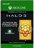 Halo 5: Guardians: 10 Gold REQ Packs + 3 Gratuits [Extension du Jeu] [Xbox One - Code jeu à télécharger]