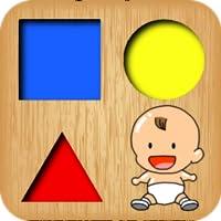 Kleinkind lernt Formen Spiele