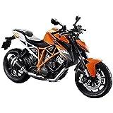 Collectable Diecast Maisto 1:12 KTM 1290 Super Duke R Orange Motorcycle Model