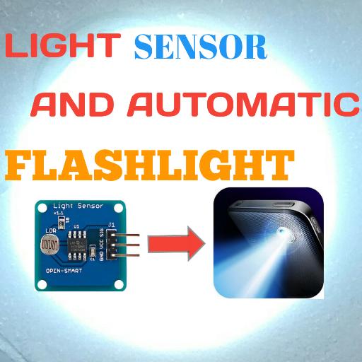 Light Sensor And Automatic Flash Light - Sensing Bulb