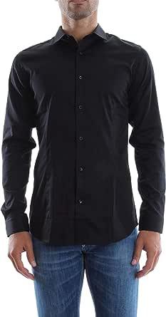 Jack and Jones Men's Parma Long Sleeve Super Slim Fit Casual Shirt