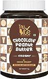 Trubite Chocolate Peanut Butter (Creamy) (1kg) | High in Protein | Goodness of Dark Chocolate | No Cholesterol | Rich in…
