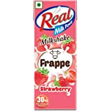 Real Frappe Milkshake - Strawberry - 180 ml