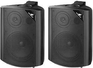 Monacor 13.113090W 2-Wege Lautsprecher System, schwarz, 1Paar