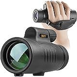 Emarth Starscope Monokular, 8x42HD Wasserdicht high Power Zoom Fernrohr Handy Stoßfest mit Handschlaufe,Fernrohr Monokular, B