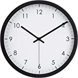 Amazon Basics Horloge murale traditionnelle, noir, 30,5 cm