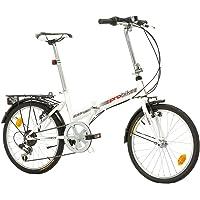 Multibrand PROBIKE Folding 20 Zoll Klapprad, Faltrad, Shimano 6 Gang, Herren-Fahrrad & Jungen-Fahrrad, geeignet ab 155…