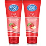 Good Luck Fruit Face Wash for All Skin Type 60g Each (Pack of 2)
