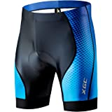 XGC Men's Cycling Shorts/Bike Shorts and Cycling Underwear with High-Density and High-Elasticity 4D Sponge Padded