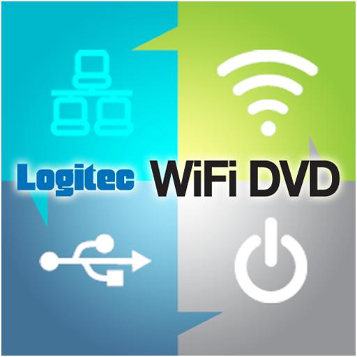 Logitec WiFi DVD -
