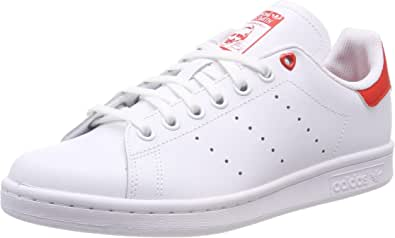 adidas Stan Smith J G27631, Sneakers Basses Mixte Enfant