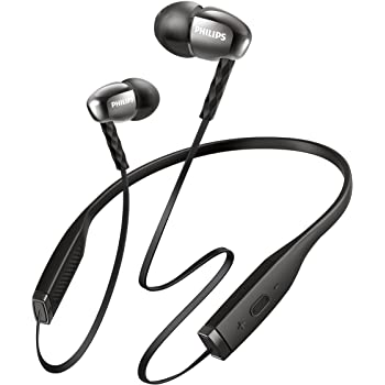 Philips SHB5950BK 00 Wireless Bluetooth Headset (Knot-Free Neckband Design c5671c7cc8