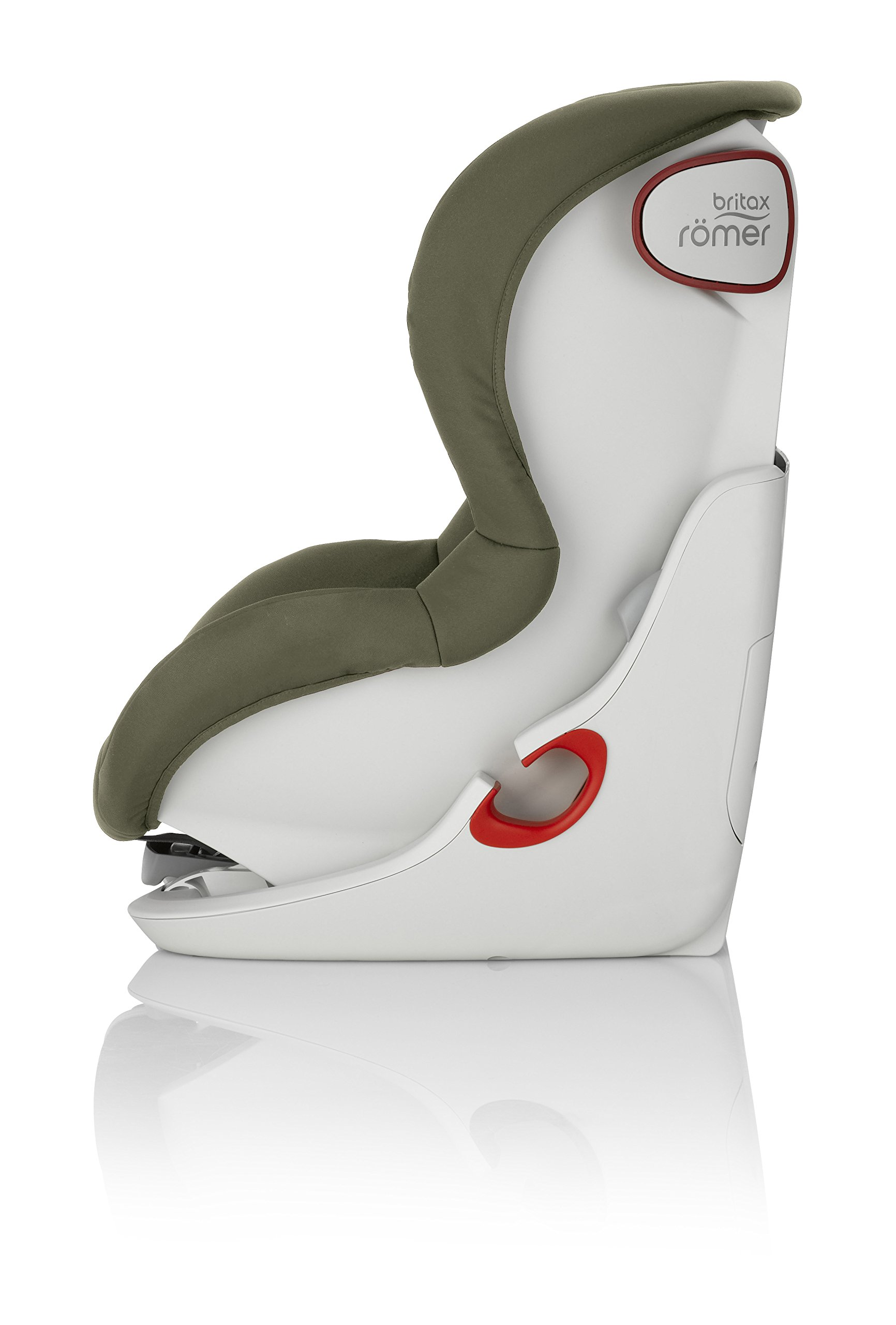 Britax Römer King II Car Seat, Olive Green Britax Römer Easy installation - with tilting seat and patented seat belt tensioning system Optimum protection - performance chest pads, deep, padded side wings 2