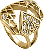Just Cavalli Women's Brass Just Me Ring - 8-18 mm, JCRG00260208