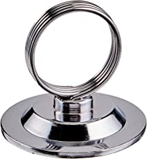 New Star Foodservice 12 pcs Ring-Clip Place Card Holder