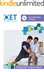 OET Occupational Therapy: Official OET Practice Book 1
