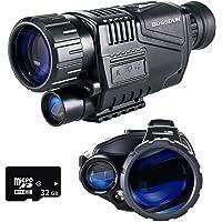 Monoculaire de Vision Nocturne, 5 x 35 Lunettes de Visée HD à Vision Nocturne Numérique avec Fonction Rechargeable/Photo…