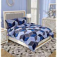 RRC Cotton 200 TC Quilt Cover (Blue_Single)
