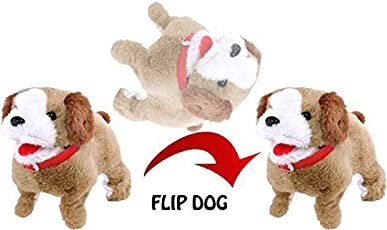 SAISAN Battery Operated Walking, Barking and Jumping Puppy Toy