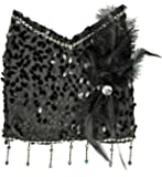 Charleston Kostüm Handtasche - Tolles Accessoire zu Kostümen der 20er 30er Jahre oder Mottoparty
