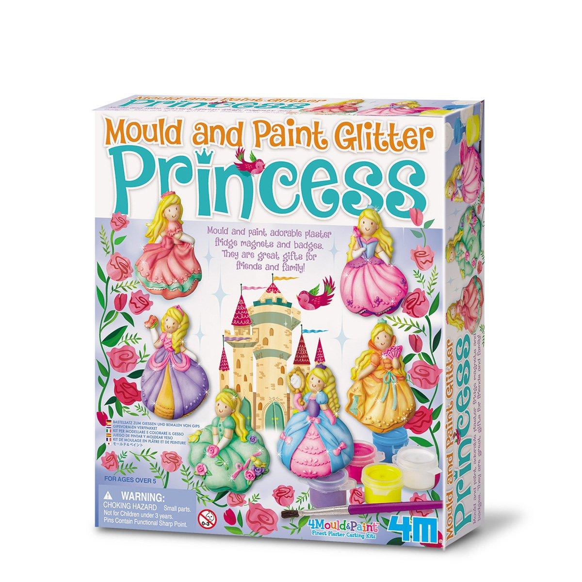4M – Mould & Paint Glitter Princess (004M3528)