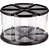 Deflect-o Carrousel de rangement 6 tubes transparents