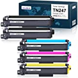 OfficeWorld Cartouche de Toner Compatible Brother TN247 TN243 TN-247 TN-243 para Brother DCP-L3550CDW DCP-L3510CDW, HL-L3210C