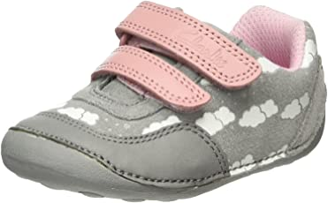 Clarks Girl's Little Skip Boat Shoes