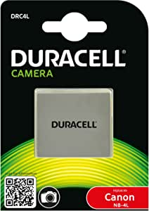 Duracell Rechargeable Drc4l Battery For Canon Nb 4l Digital Camera