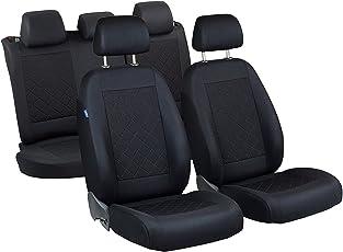 Vitara Sitzbezüge - 1 Set - Farbe Premium Schwarz gepresstes Karomuster
