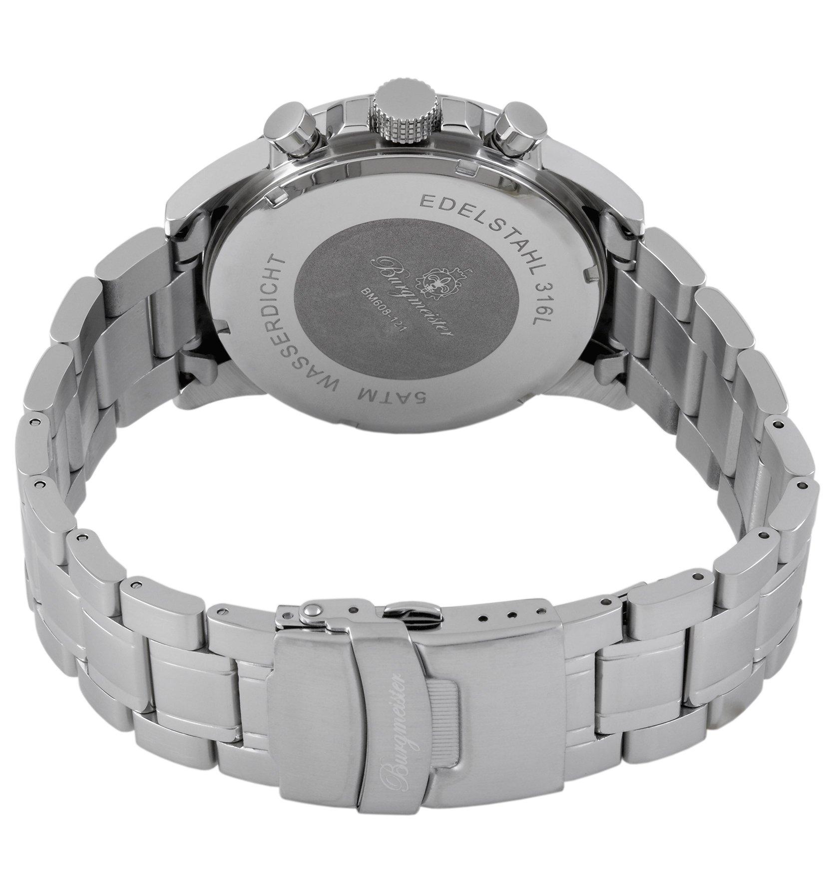 Burgmeister-Armbanduhr-fr-Herren-mit-Analog-Anzeige-Quarz-Uhr-mit-Edelstahl-Armband-Wasserdichte-Herrenarmbanduhr-mit-zeitlosem-schickem-Design-Klassische-Uhr-fr-Mnner-Washington