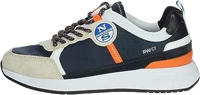 NORTH SAILS Sneaker Navy Orange RW-01WAVE-017