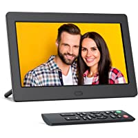 Digitaler Bilderrahmen 7 Zoll, FamBrow Elektronischer Bilderrahmen Full HD 16:9 IPS Display, Multifunktion Digital…