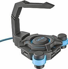 Trust GXT 213 Hub USB 4 Porte con Tendifilo per Mouse
